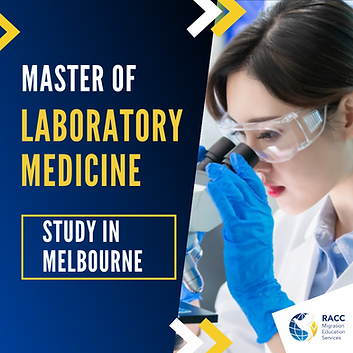 Master of Laboratory Medicine in Mebourn