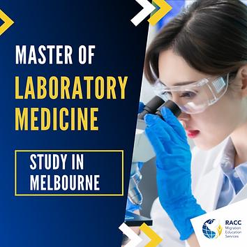 Master of Laboratory Medicine in Mebourn