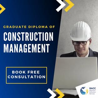 Graduate Diploma of Construction Management