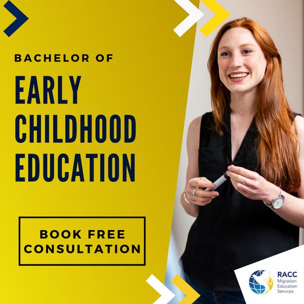 Bachelor of Early Childhood Education