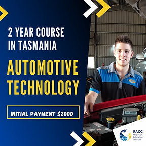 Automotive Course International student