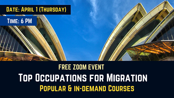 Top Occupation and Migration