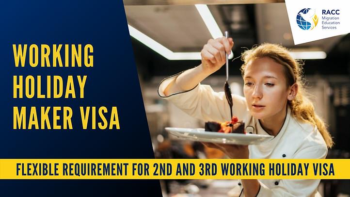 Working Holiday Maker Visa