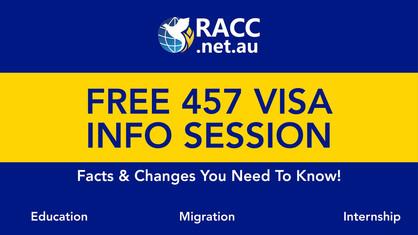 457 Visa Info Session (Free Event)