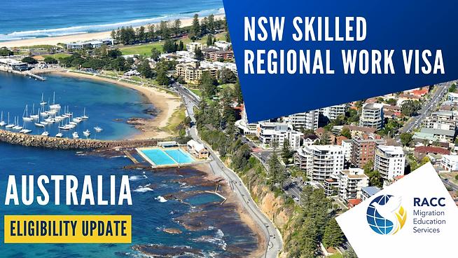NSW 491 Regional Migration update