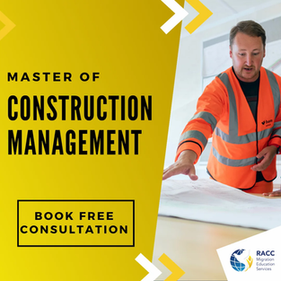 Master of Construction Management