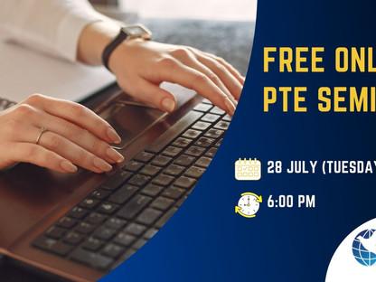 Online PTE Seminar