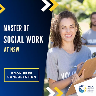 Master of Social Work NSW