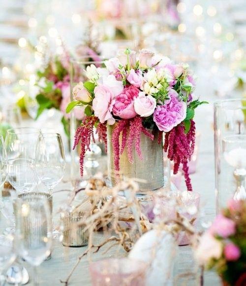 Décoration de table - Fleurs