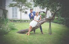 Photo des mariés - Crédit Kelly His