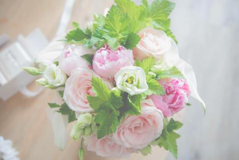 Bouquet de la mariée - Crédit Kelly His