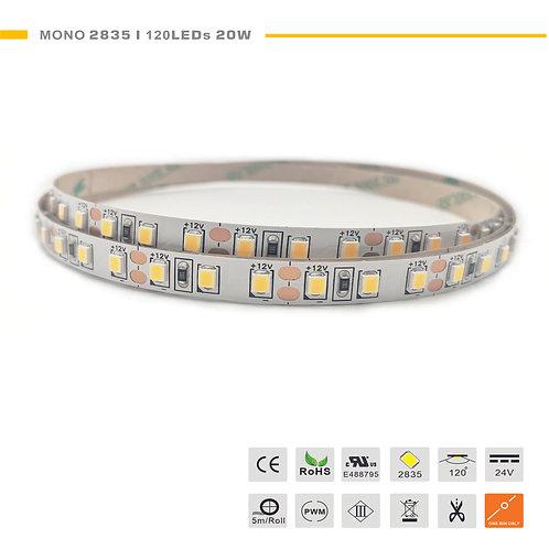 Mono 2835 120LED 20W