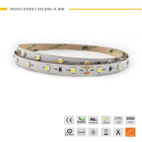 Mono 3528 60LED 4.8W