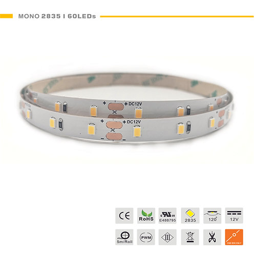 Mono 2835 60LED 12W