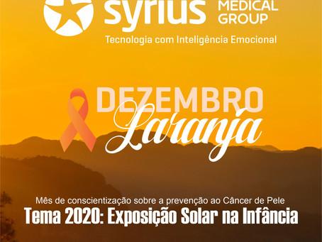 Dezembro Laranja - Tema 2020: Exposição Solar na Infância
