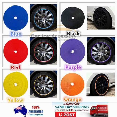 8M AntiScratch Wheel Rim Protector Rubber Moulding