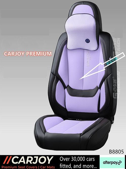 2021 CARJOY Design Handmade Premium Car seat cover DM8805 Purple