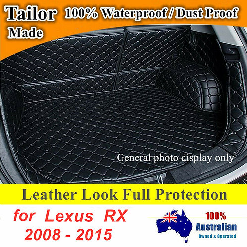 Customized 3D Full coverage Waterproof Boot liner mats for Lexus RX 2008 - 2015