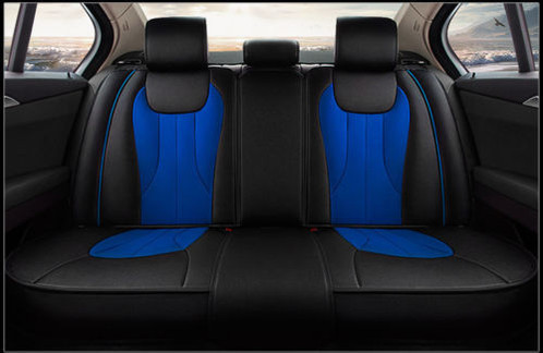 Universal Fit For All 5 Seater Cars Package Including 2 Front Seat Cover Rear Back 1 Middle Armrest Pad Zip On Both Sides 3 Separate