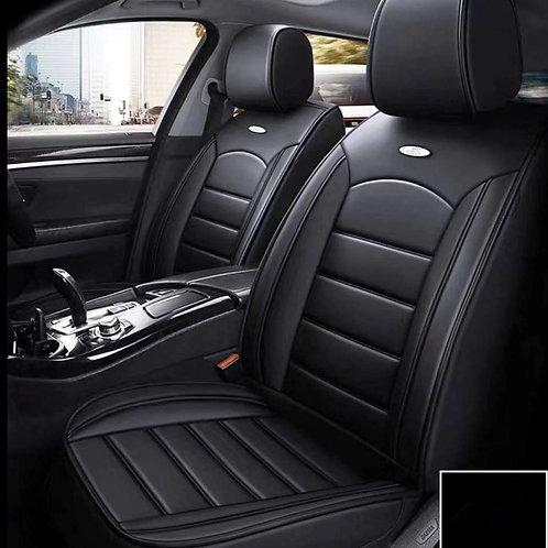 360'degree PU Leather Universal car seat cover plain black