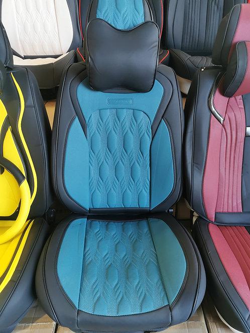 2020 Limited Design Handmade Premium Car seat cover DM06 Peacock Blue