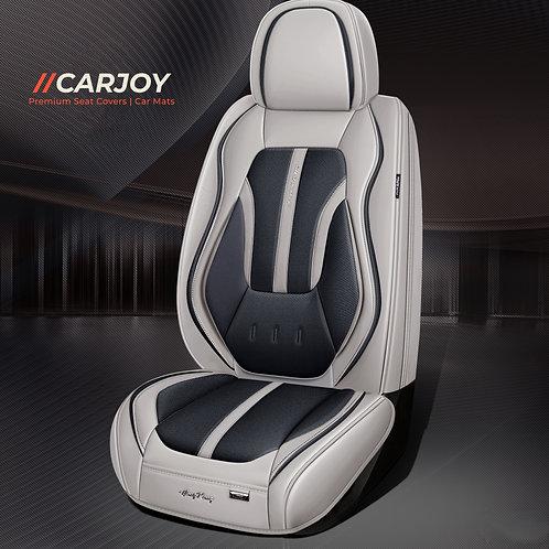 2021 Limited Design Handmade Premium Car seat cover H7 Black Grey