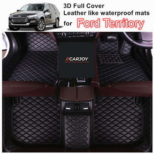 3D Shape Customized Waterproof Car Floor Mats for Ford Territory All Models