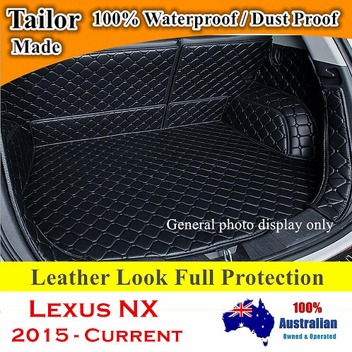 Tailor Made Waterproof Boot Liner Cargo Mats Cover for Lexus NX all models