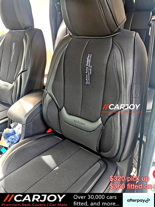 2021 CARJOY Design Handmade Premium Car seat cover DM8805 Full black