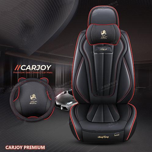 2021 CARJOY Design Handmade Premium Car seat cover H8 Black