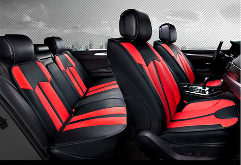 Sports Design Red Black Luxury Pack Car Seat Cover