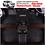 Thumbnail: 3D Waterproof Car Floor Mats for Toyota Prado 150 series 2010 - 2021 All 3 rows