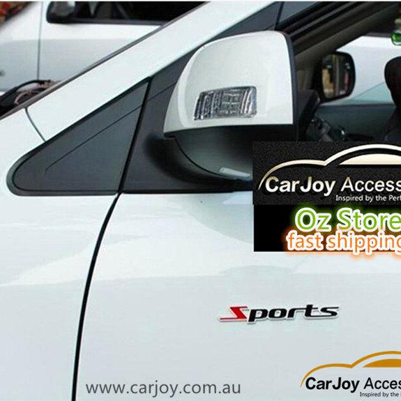 3D Chrome Metal Emblem Badge Sports Car Sticker   carjoy