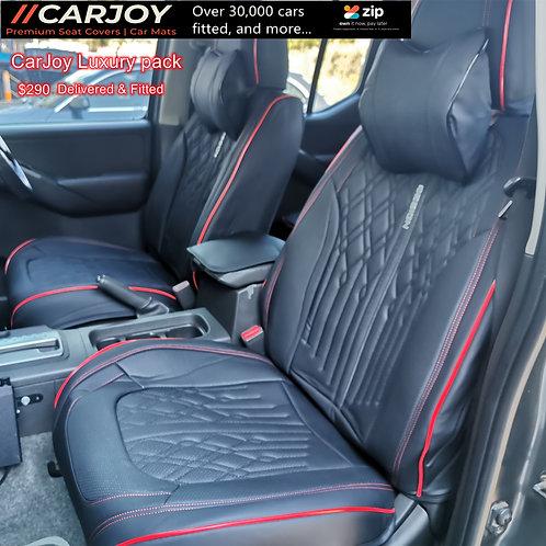 2021 CARJOY Design Handmade Luxury Car seat cover A022 Red