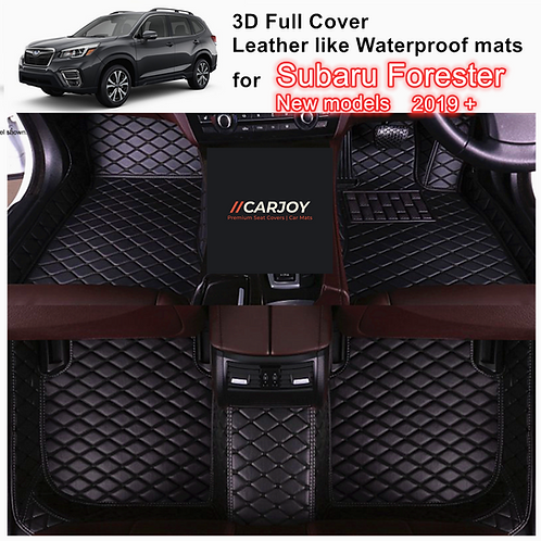 copy of 3D Moulded Customized Waterproof Car Floor Mats liner for LDV T60 all mo