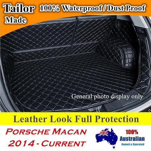 Customized Full coverage Waterproof Boot liner mats for Porsche Macan 2015-2021