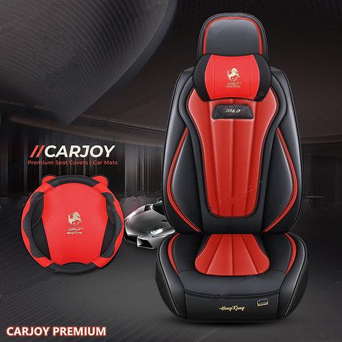 2021 CARJOY Design Handmade Premium Car seat cover H8 RED