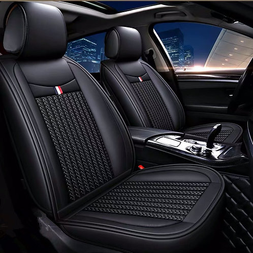 360'degree Cloth & PU Leather Combination Car seat covers