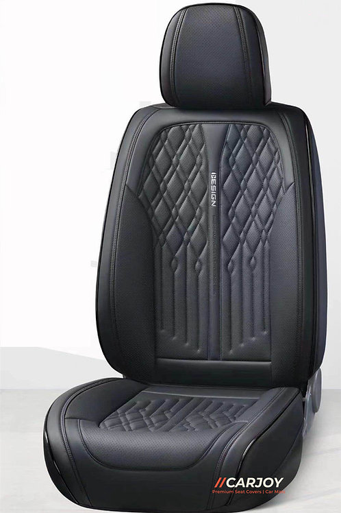 2021 CARJOY Design Handmade Luxury Car seat cover A022 Black