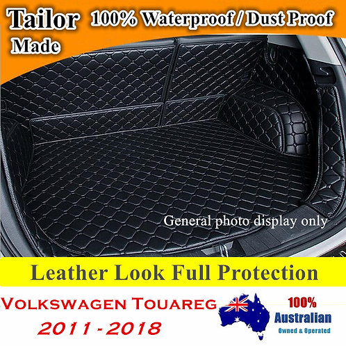 Tailor Made Waterproof Boot Liner Cargo Mats Cover for Volkswagen Touareg