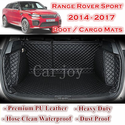 Tailor Made Waterproof Boot Liner Cargo Mats Cover Range Rover Sport 2014 - 2017