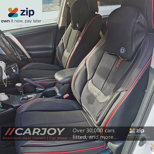 2021 CARJOY Design Handmade Premium Car seat cover DM8805 Red lining 5 Seats