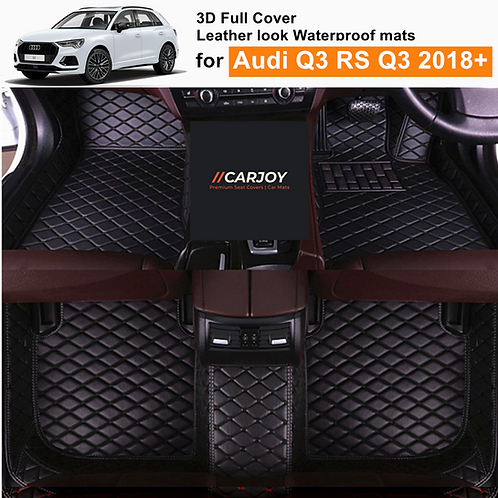 3D Moulded Fully Waterproof Car Floor Mats cover for Audi Q3 RSQ3 2018 - Current