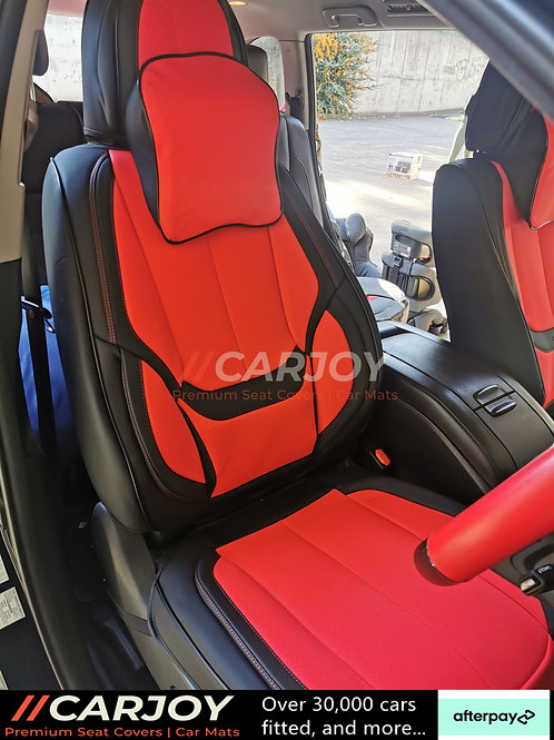 2021 CARJOY Design Handmade Premium Car seat cover 8805 Red