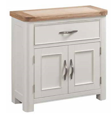 Oxford Painted Compact Sideboard with 1 Drawer + 2 Doors