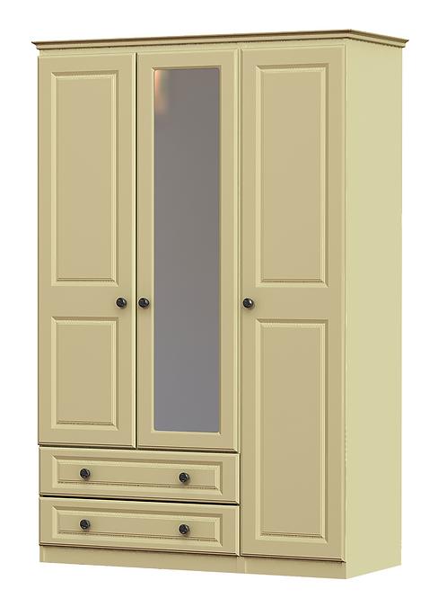 Liffey 3 Door 2 Drawer 1 Mirror Robe