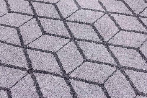 Ambience Rugs - Cube Medium Grey
