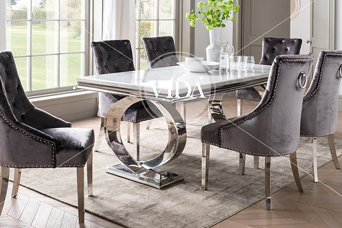 Selene Dining Table and 6 Chairs