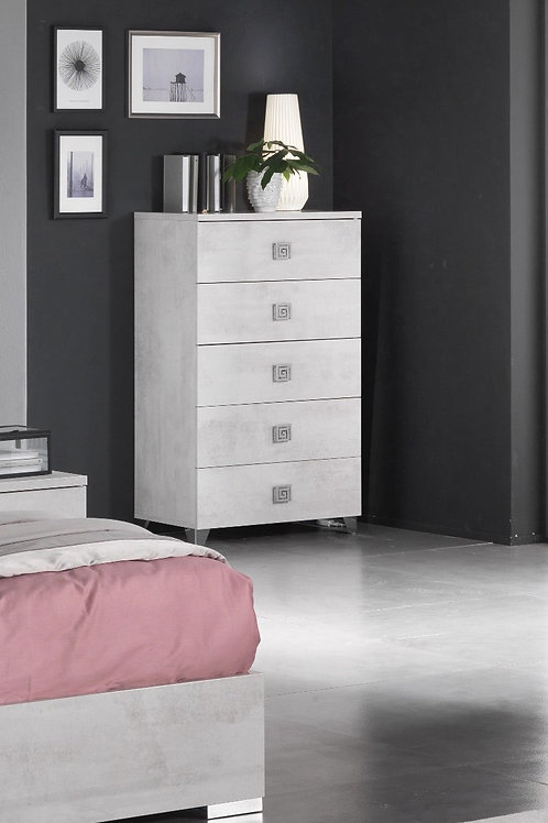 Alexe 5 Drawer Chest