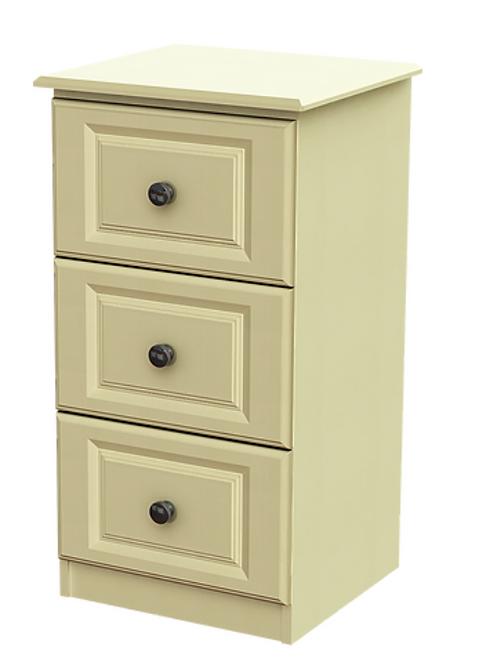 Liffey 3 Drawer Deep Bedside Locker